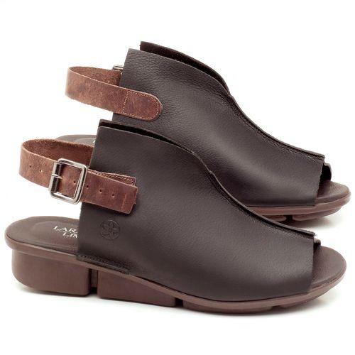 Laranja_Lima_Shoes_Sapatos_Femininos_Sandalia_Rasteira_Flat_Salto_de_3_cm_em_Couro_Preto_-_Codigo_-_136042_1