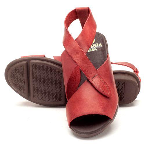Laranja_Lima_Shoes_Sapatos_Femininos_Sandalia_Rasteira_Flat_em_Couro_Vermelho_-_Codigo_-_136044_2