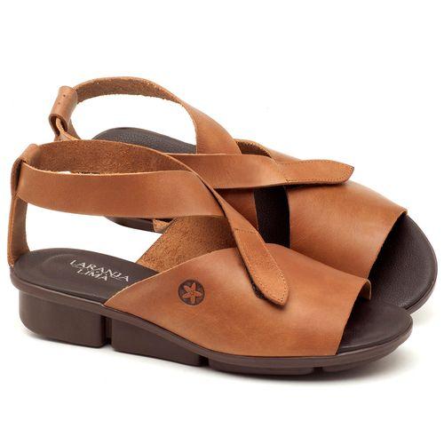 Laranja_Lima_Shoes_Sapatos_Femininos_Sandalia_Rasteira_Flat_em_Couro_Caramelo_-_Codigo_-_136044_1