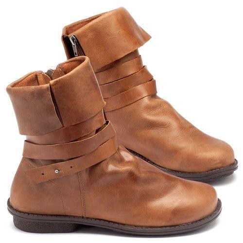 Laranja_Lima_Shoes_Sapatos_Femininos_Bota_Cano_Curto_Salto_de_2_cm_em_Couro_Caramelo_-_Codigo_-_136050_1