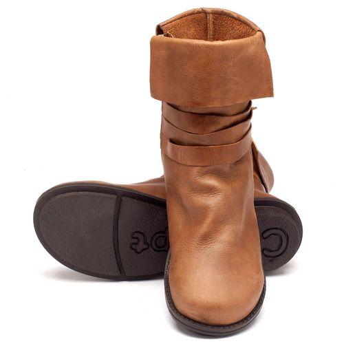 Laranja_Lima_Shoes_Sapatos_Femininos_Bota_Cano_Curto_Salto_de_2_cm_em_Couro_Caramelo_-_Codigo_-_136050_2
