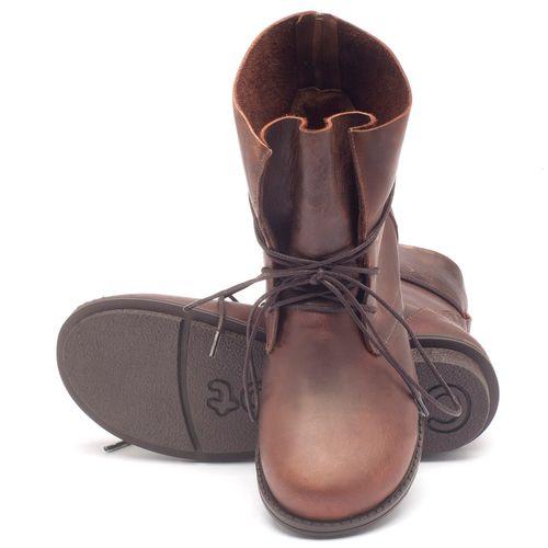 Laranja_Lima_Shoes_Sapatos_Femininos_Bota_Cano_Curto_Salto_de_2_cm_em_Couro_Marrom_-_Codigo_-_136051_2