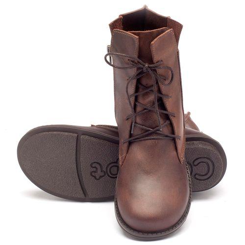 Laranja_Lima_Shoes_Sapatos_Femininos_Bota_Cano_Curto_Salto_de_2_cm_em_Couro_Cafe_-_Codigo_-_136052_2