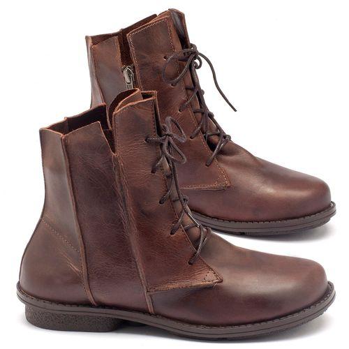 Laranja_Lima_Shoes_Sapatos_Femininos_Bota_Cano_Curto_Salto_de_2_cm_em_Couro_Cafe_-_Codigo_-_136052_1