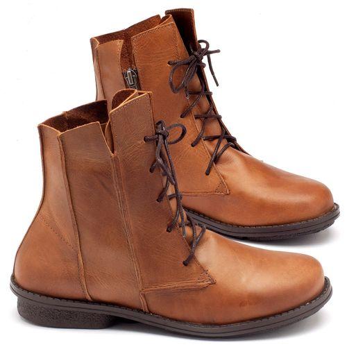 Laranja_Lima_Shoes_Sapatos_Femininos_Bota_Cano_Curto_Salto_de_2_cm_em_Couro_Caramelo_-_Codigo_-_136052_1