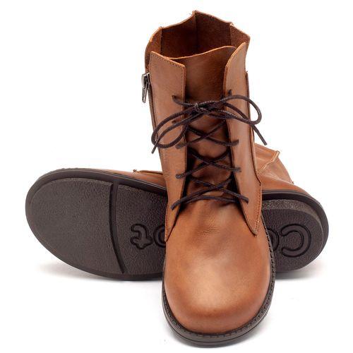 Laranja_Lima_Shoes_Sapatos_Femininos_Bota_Cano_Curto_Salto_de_2_cm_em_Couro_Caramelo_-_Codigo_-_136052_2