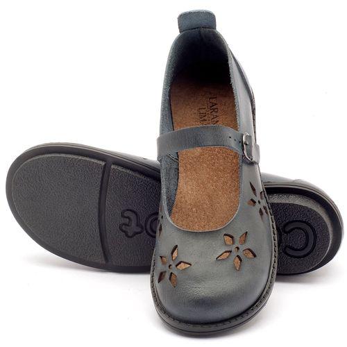 Laranja_Lima_Shoes_Sapatos_Femininos_Sapatilha_Bico_Redondo_Salto_de_2_cm_em_Couro_Azul_-_Codigo_-_136054_2