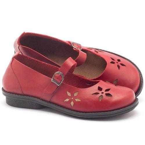 Laranja_Lima_Shoes_Sapatos_Femininos_Sapatilha_Bico_Redondo_Salto_de_2_cm_em_Couro_Vermelho_-_Codigo_-_136054_1