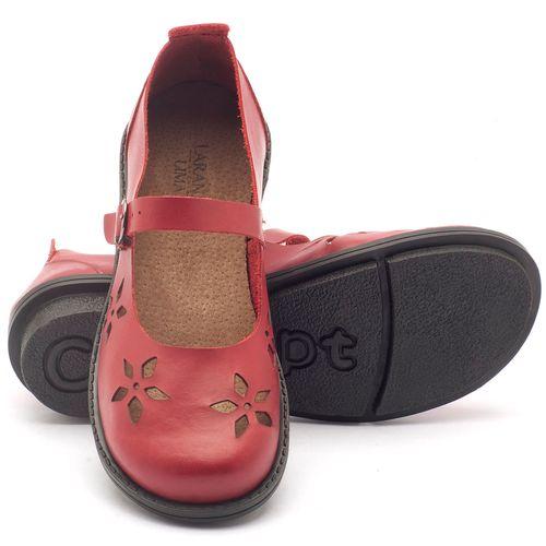 Laranja_Lima_Shoes_Sapatos_Femininos_Sapatilha_Bico_Redondo_Salto_de_2_cm_em_Couro_Vermelho_-_Codigo_-_136054_2