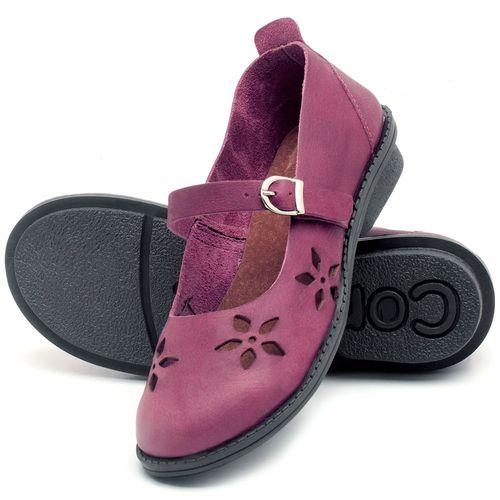Laranja_Lima_Shoes_Sapatos_Femininos_Sapatilha_Bico_Redondo_Salto_de_2_cm_em_Couro_Roxo_-_Codigo_-_136054_2