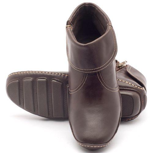 Laranja_Lima_Shoes_Sapatos_Femininos_Bota_Cano_Curto_em_Couro_Cafe_-_Codigo_-_136065_2
