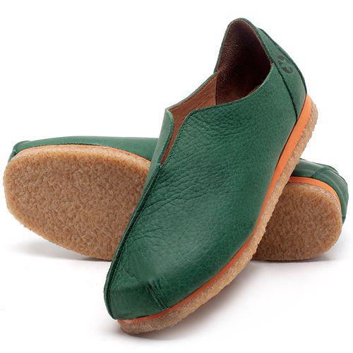 Laranja_Lima_Shoes_Sapatos_Femininos_Sapatilha_Bico_Quadrado_em_Couro_Verde_-_Codigo_-_3050_2