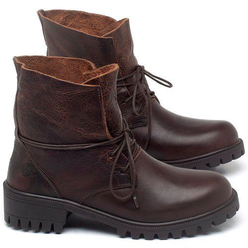 Laranja_Lima_Shoes_Sapatos_Femininos_Bota_Cano_Curto_Salto_de_2_cm_em_Couro_Marrom_-_Codigo_-_137031_4