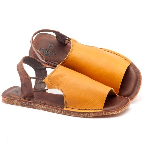 Laranja_Lima_Shoes_Sapatos_Femininos_Sandalia_Rasteira_Flat_em_Couro_Amarelo_-_Codigo_-_141043_1