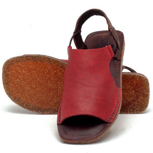 Laranja_Lima_Shoes_Sapatos_Femininos_Sandalia_Rasteira_Flat_em_Couro_Vermelho_-_Codigo_-_141043_2