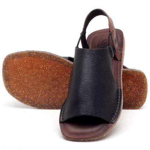Laranja_Lima_Shoes_Sapatos_Femininos_Sandalia_Rasteira_Flat_em_Couro_Preto_-_Codigo_-_141043_2