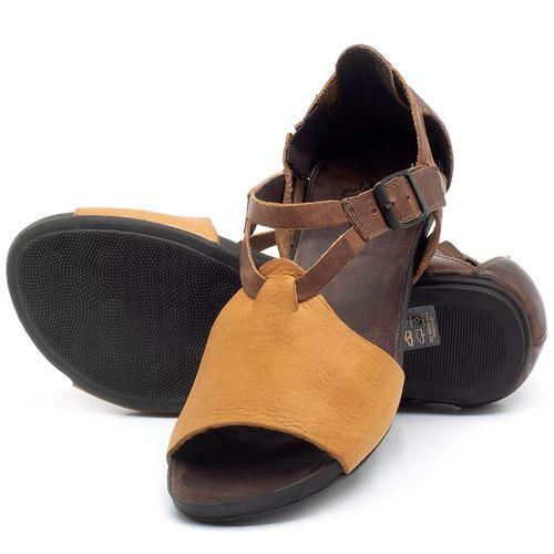 Laranja_Lima_Shoes_Sapatos_Femininos_Sandalia_Rasteira_Flat_em_Couro_Amarelo_-_Codigo_-_137187_2
