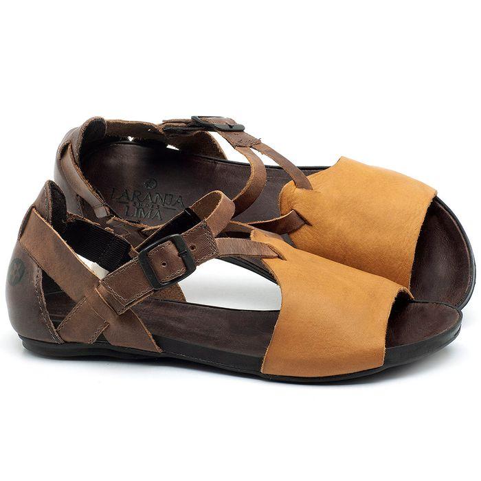 Laranja_Lima_Shoes_Sapatos_Femininos_Sandalia_Rasteira_Flat_em_Couro_Amarelo_-_Codigo_-_137187_1