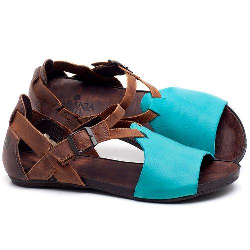 Laranja_Lima_Shoes_Sapatos_Femininos_Sandalia_Rasteira_Flat_em_Couro_Azul_-_Codigo_-_137187_1