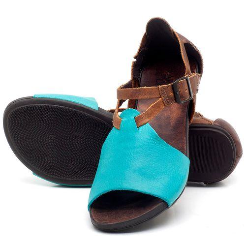 Laranja_Lima_Shoes_Sapatos_Femininos_Sandalia_Rasteira_Flat_em_Couro_Azul_-_Codigo_-_137187_2