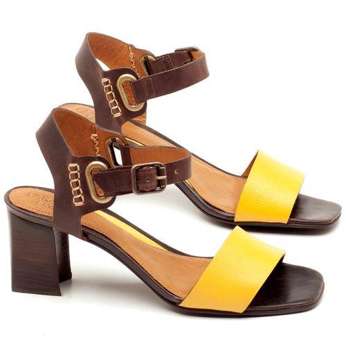 Laranja_Lima_Shoes_Sapatos_Femininos_Sandalia_Laranja_Lima_Shoes_Classic_Salto_de_65_cm_em_Couro_Amarelo_-_Codigo_-_56170_1