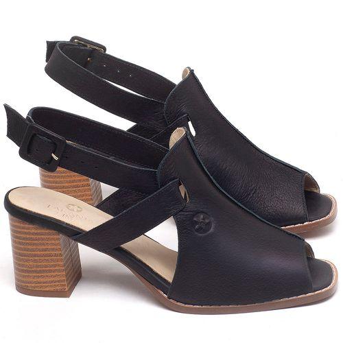 Laranja_Lima_Shoes_Sapatos_Femininos_Sandalia_Laranja_Lima_Shoes_Classic_Salto_de_6_cm_em_Couro_Preto_-_Codigo_-_3723_1