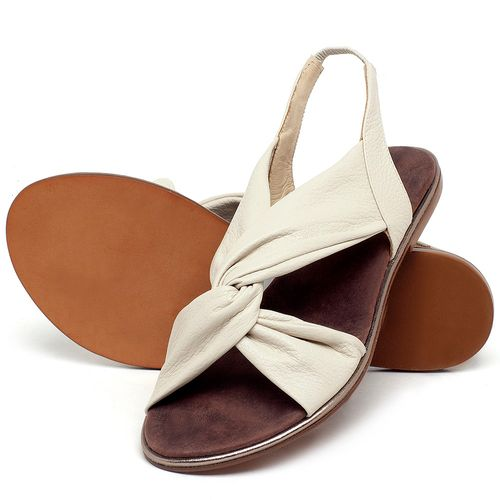 Laranja_Lima_Shoes_Sapatos_Femininos_Sandalia_Rasteira_Flat_em_Couro_Off-White_-_Codigo_-_3654_2