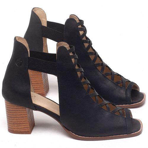 Laranja_Lima_Shoes_Sapatos_Femininos_Sandalia_Laranja_Lima_Shoes_Classic_em_Couro_Preto_-_Codigo_-_3725_1