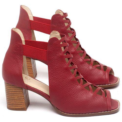 Laranja_Lima_Shoes_Sapatos_Femininos_Sandalia_Laranja_Lima_Shoes_Classic_em_Couro_Vermelho_-_Codigo_-_3725_1