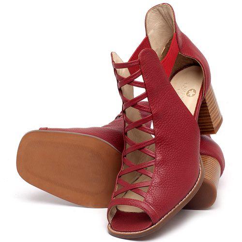 Laranja_Lima_Shoes_Sapatos_Femininos_Sandalia_Laranja_Lima_Shoes_Classic_em_Couro_Vermelho_-_Codigo_-_3725_2