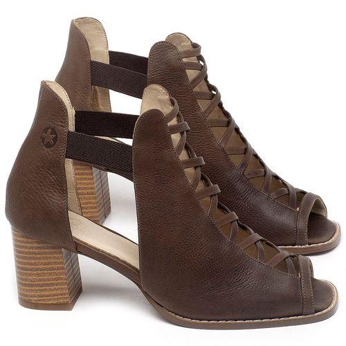 Laranja_Lima_Shoes_Sapatos_Femininos_Sandalia_Laranja_Lima_Shoes_Classic_em_Couro_Marrom_-_Codigo_-_3725_1