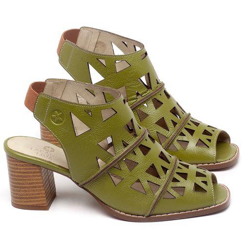 Laranja_Lima_Shoes_Sapatos_Femininos_Sandalia_Laranja_Lima_Shoes_Classic_Salto_de_6_cm_em_Couro_Verde_-_Codigo_-_3726_1