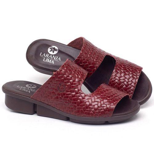 Laranja_Lima_Shoes_Sapatos_Femininos_Sandalia_Rasteira_Flat_em_Couro_Vermelho_-_Codigo_-_136096_1