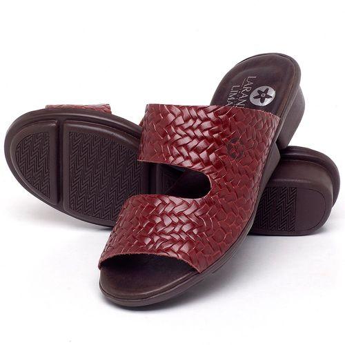 Laranja_Lima_Shoes_Sapatos_Femininos_Sandalia_Rasteira_Flat_em_Couro_Vermelho_-_Codigo_-_136096_2
