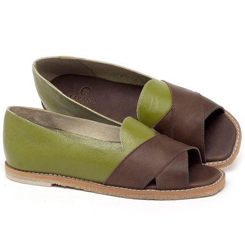 Laranja_Lima_Shoes_Sapatos_Femininos_Sandalia_Rasteira_Flat_em_Couro_Verde_-_Codigo_-_3729_1