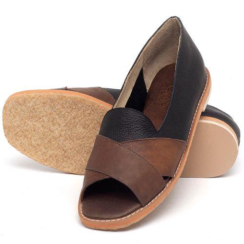 Laranja_Lima_Shoes_Sapatos_Femininos_Sandalia_Rasteira_Flat_em_Couro_Vermelho_-_Codigo_-_3729_2