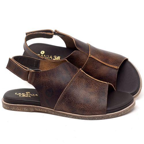 Laranja_Lima_Shoes_Sapatos_Femininos_Sandalia_Rasteira_Flat_em_Couro_Marrom_-_Codigo_-_137288_1