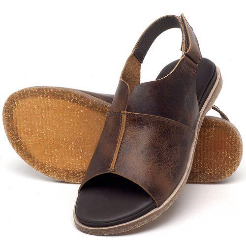 Laranja_Lima_Shoes_Sapatos_Femininos_Sandalia_Rasteira_Flat_em_Couro_Marrom_-_Codigo_-_137288_2