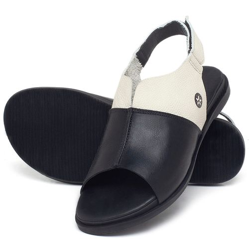 Laranja_Lima_Shoes_Sapatos_Femininos_Sandalia_Rasteira_Flat_em_Couro_Preto_-_Codigo_-_137288_2