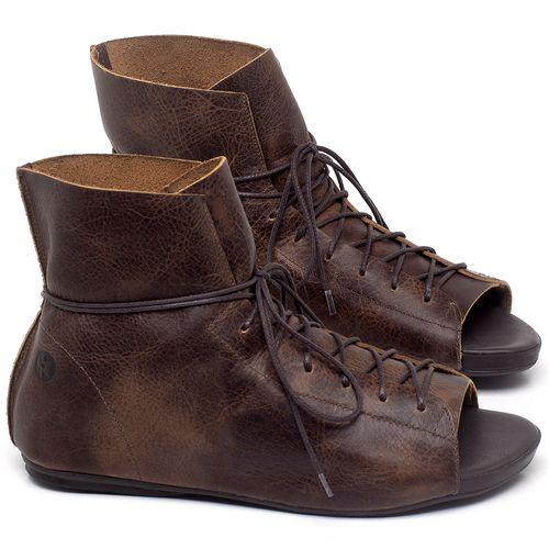 Laranja_Lima_Shoes_Sapatos_Femininos_Sandalia_Rasteira_Flat_em_Couro_Marrom_-_Codigo_-_137294_1