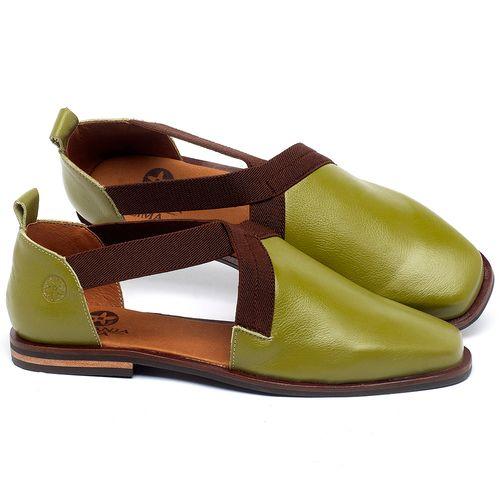 Laranja_Lima_Shoes_Sapatos_Femininos_Sapatilha_Bico_Quadrado_em_Couro_Verde_-_Codigo_-_136084_1