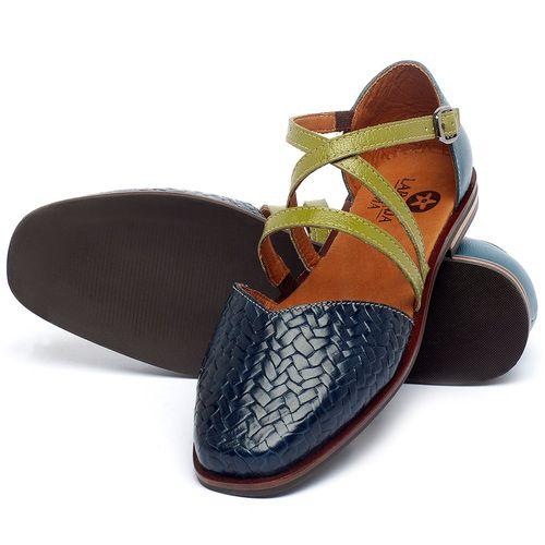 Laranja_Lima_Shoes_Sapatos_Femininos_Sapatilha_Bico_Quadrado_em_Couro_Azul_-_Codigo_-_136086_2