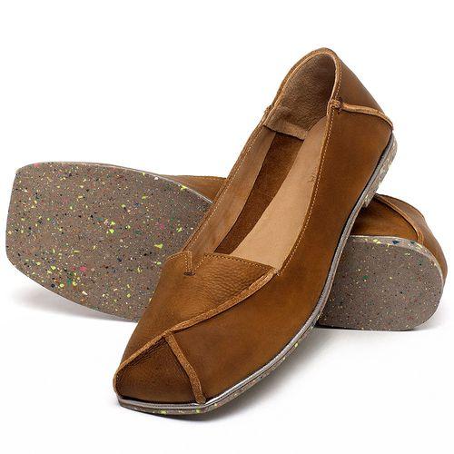 Laranja_Lima_Shoes_Sapatos_Femininos_Sapatilha_Bico_Quadrado_em_Couro_Caramelo_-_Codigo_-_145039_2