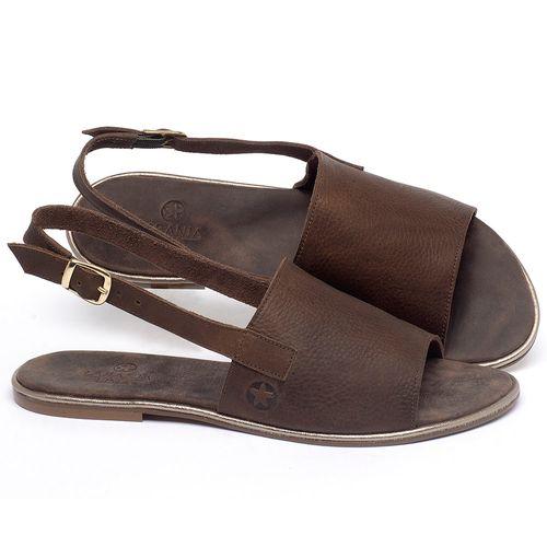 Laranja_Lima_Shoes_Sapatos_Femininos_Sandalia_Rasteira_Flat_em_Couro_Marrom_-_Codigo_-_3721_1