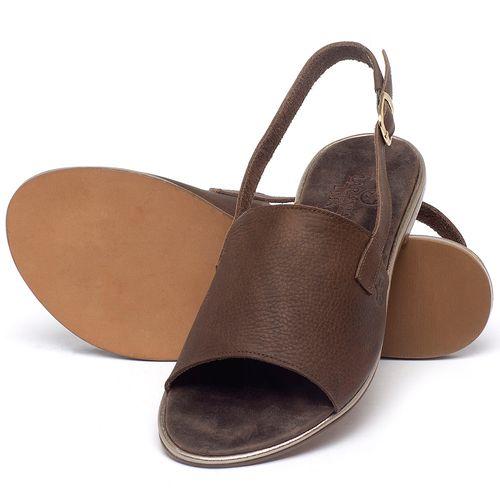 Laranja_Lima_Shoes_Sapatos_Femininos_Sandalia_Rasteira_Flat_em_Couro_Marrom_-_Codigo_-_3721_2
