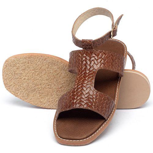 Laranja_Lima_Shoes_Sapatos_Femininos_Sandalia_Rasteira_Flat_em_Couro_Caramelo_-_Codigo_-_3730_2