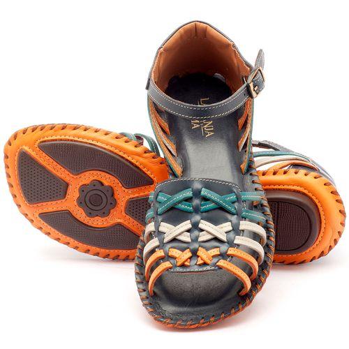 Laranja_Lima_Shoes_Sapatos_Femininos_Sandalia_Rasteira_Flat_em_Couro_Multicolor_-_Codigo_-_136003_2