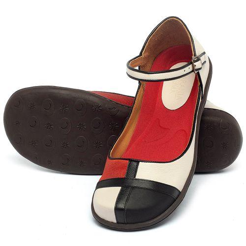 Laranja_Lima_Shoes_Sapatos_Femininos_Sapatilha_Bico_Redondo_em_Couro_Colorido_-_Codigo_-_56210_2