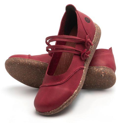 Laranja_Lima_Shoes_Sapatos_Femininos_Sapatilha_Alternativa_em_Couro_Vermelho_-_Codigo_-_137267_2