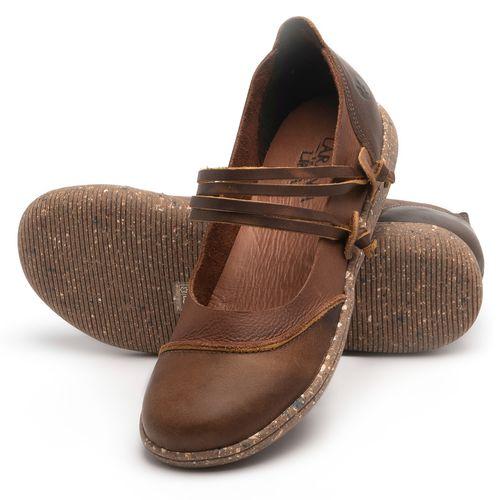 Laranja_Lima_Shoes_Sapatos_Femininos_Sapatilha_Alternativa_em_Couro_Marrom_-_Codigo_-_137267_2
